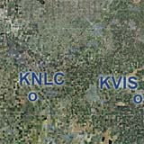 Central Valley, Lemoore NAS (KNLC) - Visalia (KVIS)